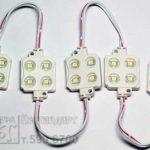 светодиоды, светодиодные кластеры для вывески
